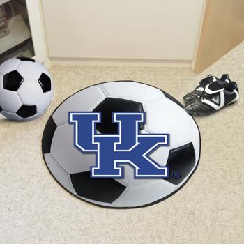 """27"""" University of Kentucky Soccer Ball Round Mat"""