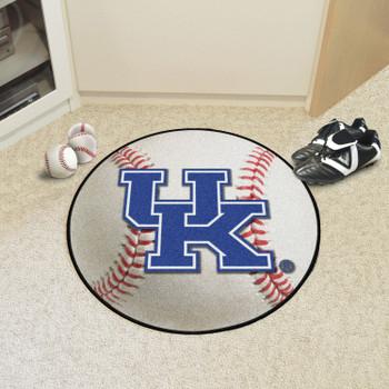 """27"""" University of Kentucky Baseball Style Round Mat"""