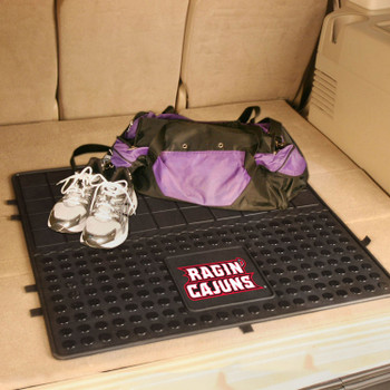 "31"" University of Louisiana-Lafayette Heavy Duty Vinyl Cargo Trunk Mat"