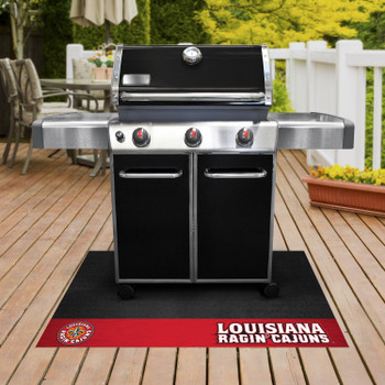 "26"" x 42"" University of Louisiana-Lafayette Grill Mat"