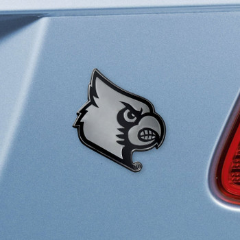 University of Louisville Chrome Emblem, Set of 2