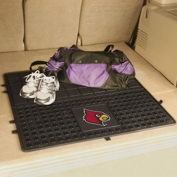 "31"" University of Louisville Heavy Duty Vinyl Cargo Trunk Mat"