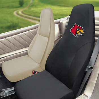 "University of Louisville Car Seat Cover - ""Cardinal"" Logo"