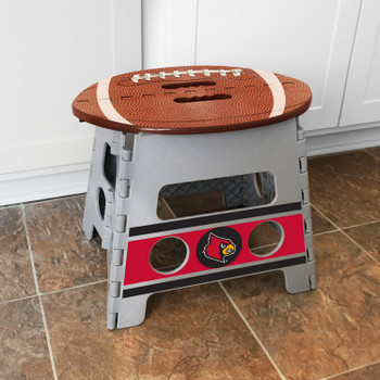 University of Louisville Folding Step Stool