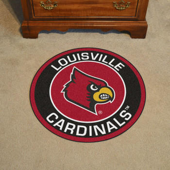 "27"" University of Louisville Roundel Round Mat"