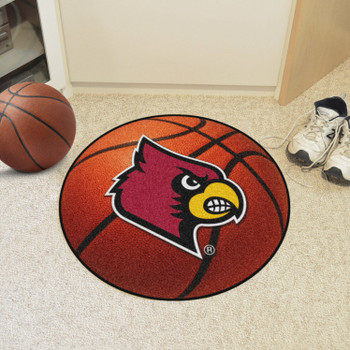 "27"" University of Louisville Basketball Style Round Mat"