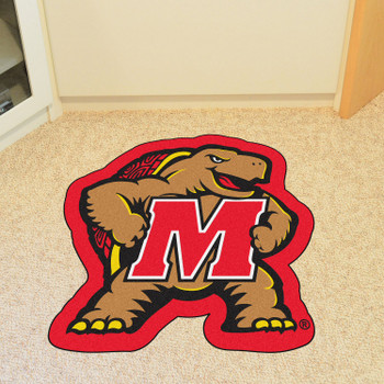 "University of Maryland Mascot Mat - ""Turtle & M"" Logo"