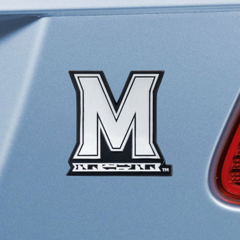 University of Maryland Chrome Emblem, Set of 2