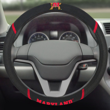 University of Maryland Steering Wheel Cover