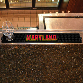 University of Maryland Vinyl Drink Mat
