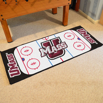 "30"" x 72"" University of Massachusetts Rink Runner Mat"