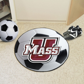 "27"" University of Massachusetts Soccer Ball Round Mat"