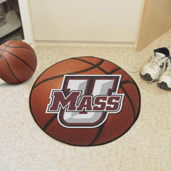 "27"" University of Massachusetts Basketball Style Round Mat"