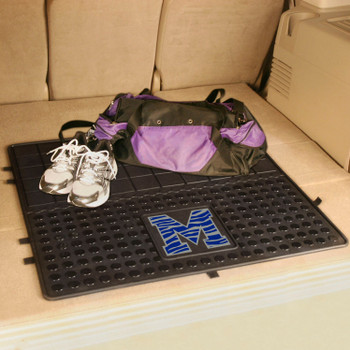 "31"" University of Memphis Heavy Duty Vinyl Cargo Trunk Mat"