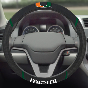 University of Miami Steering Wheel Cover