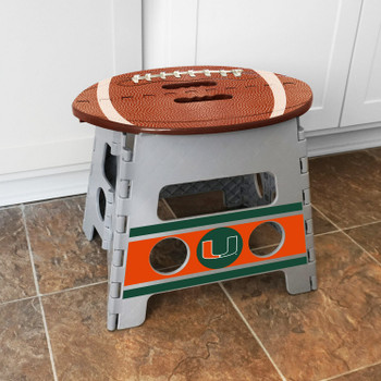 University of Miami Folding Step Stool