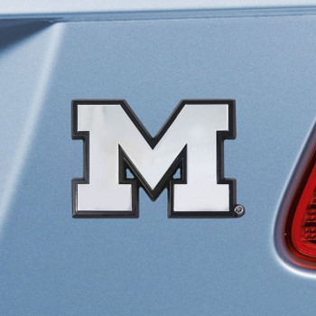 University of Michigan Chrome Emblem, Set of 2