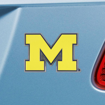 University of Michigan Blue Color Emblem, Set of 2