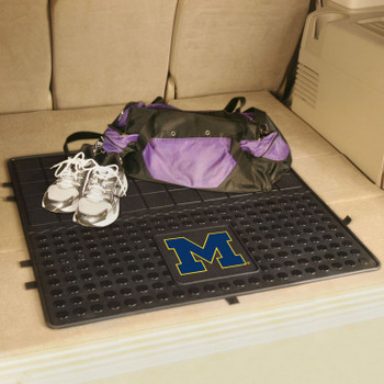 "31"" University of Michigan Heavy Duty Vinyl Cargo Trunk Mat"