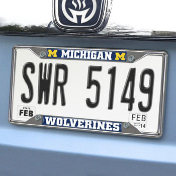 University of Michigan License Plate Frame