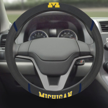 University of Michigan Steering Wheel Cover