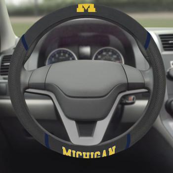 University of Michigan Steering Wheel Cover