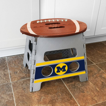 University of Michigan Folding Step Stool