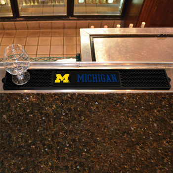 University of Michigan Vinyl Drink Mat