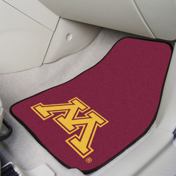 University of Minnesota Red Carpet Car Mat, Set of 2