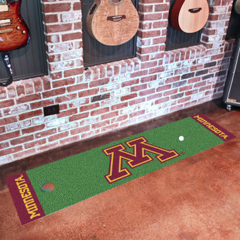 "18"" x 72"" University of Minnesota Putting Green Runner Mat"