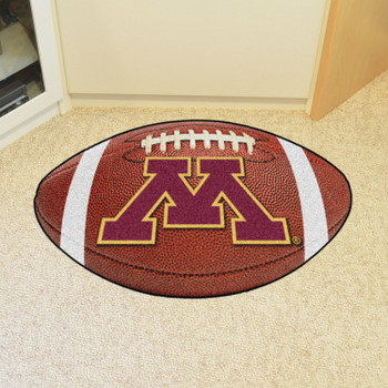 "20.5"" x 32.5"" University of Minnesota Football Shape Mat"