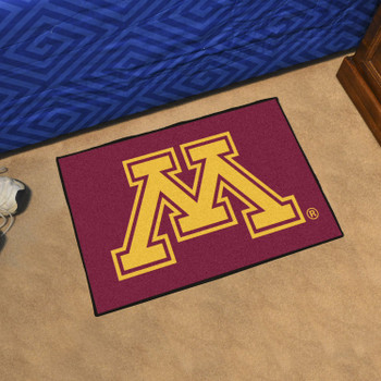 "19"" x 30"" University of Minnesota Red Rectangle Starter Mat"