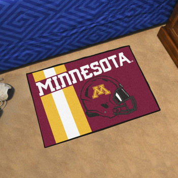 "19"" x 30"" University of Minnesota Uniform Red Rectangle Starter Mat"