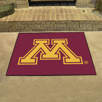 "33.75"" x 42.5"" University of Minnesota All Star Red Rectangle Mat"
