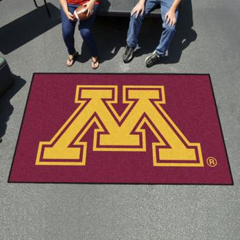 "59.5"" x 94.5"" University of Minnesota Red Rectangle Ulti Mat"