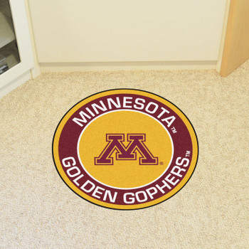 "27"" University of Minnesota Roundel Round Mat"