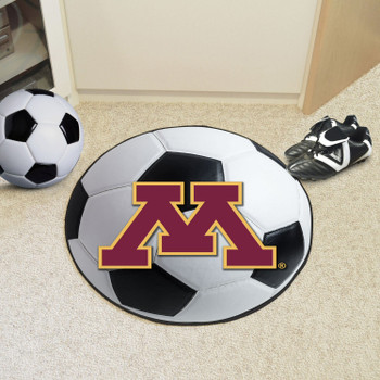 "27"" University of Minnesota Soccer Ball Round Mat"