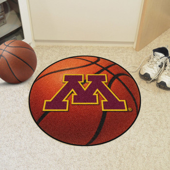 "27"" University of Minnesota Basketball Style Round Mat"