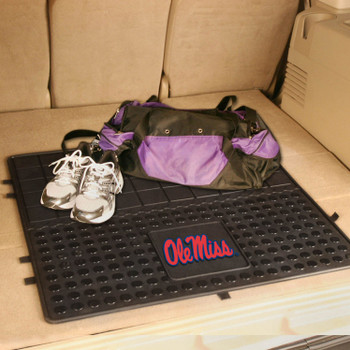 "31"" University of Mississippi (Ole Miss) Heavy Duty Vinyl Cargo Trunk Mat"