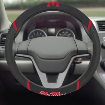 University of Mississippi (Ole Miss) Steering Wheel Cover