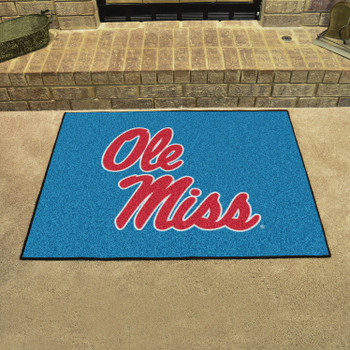 "33.75"" x 42.5"" University of Mississippi (Ole Miss) All Star Rectangle Mat"