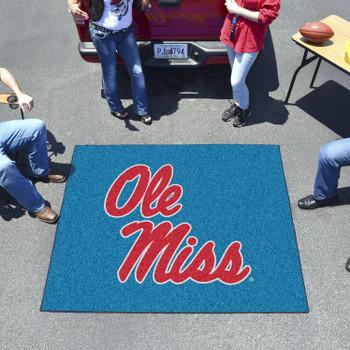 "59.5"" x 71"" University of Mississippi (Ole Miss) Tailgater Mat"