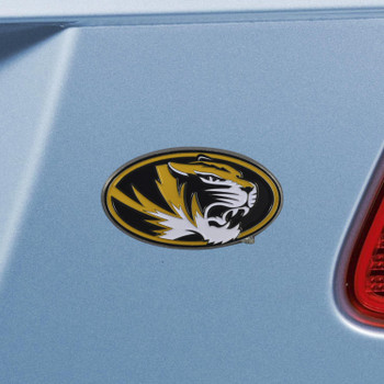 University of Missouri Black Color Emblem, Set of 2