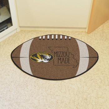 """20.5"""" x 32.5"""" University of Missouri Southern Style Football Shape Mat"""