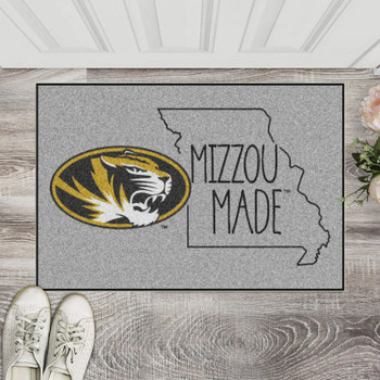 "19"" x 30"" University of Missouri Southern Style Gray Rectangle Starter Mat"
