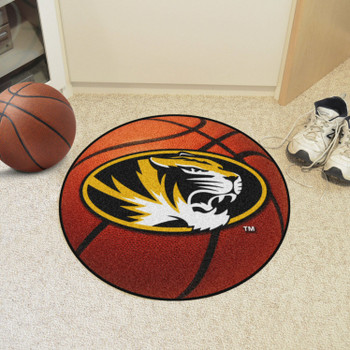 "27"" University of Missouri Basketball Style Round Mat"