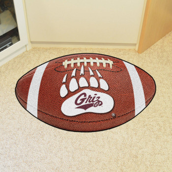"20.5"" x 32.5"" University of Montana Football Shape Mat"