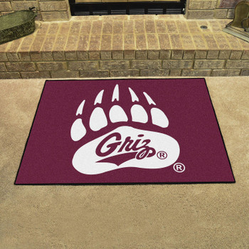 "33.75"" x 42.5"" University of Montana All Star Maroon Rectangle Mat"