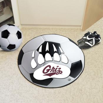 "27"" University of Montana Soccer Ball Round Mat"