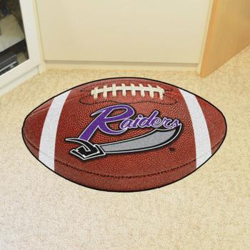 "20.5"" x 32.5"" University of Mount Union Football Shape Mat"